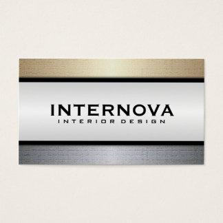 Design d'intérieur - cartes de visite