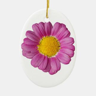 Design Fleur Ornement Ovale En Céramique