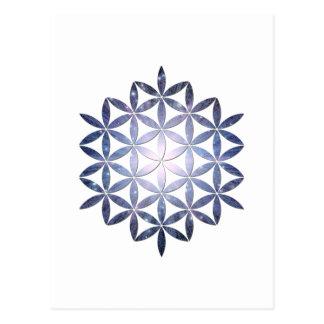Design fractal cartes postales