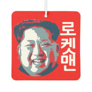 Désodorisant Pour Voiture 로켓맨 de #rocketman du Jong-ONU de Kim