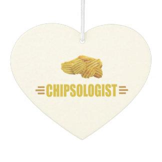 Désodorisant Pour Voiture Amants drôles de pommes chips