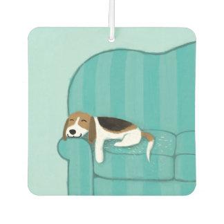 Désodorisant Pour Voiture Beagle heureux de divan