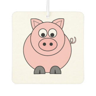Désodorisant Pour Voiture Gros porc rose