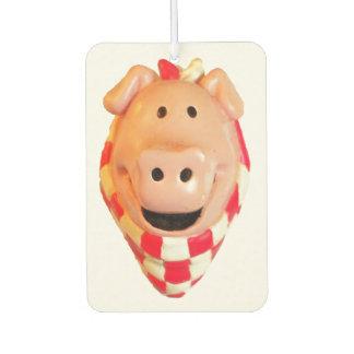 Désodorisant Pour Voiture Le porc mignon va porc sauvage
