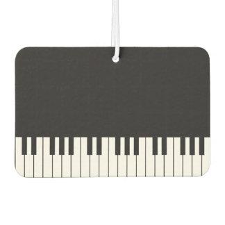 Désodorisant Pour Voiture Parfum d'ambiance de voiture de clavier de piano