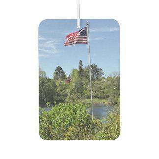 Désodorisant Pour Voiture Parfum d'ambiance de voiture du drapeau américain