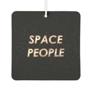Désodorisant Pour Voiture Personnes de l'espace - le parfum d'ambiance !