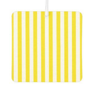 Désodorisant Pour Voiture Rayures jaunes verticales