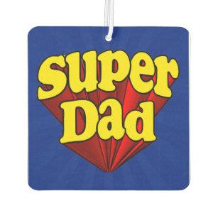 Désodorisant Pour Voiture Super héros bleu jaune rouge de fête des pères de 6dd27abeaac