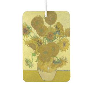 Désodorisant Pour Voiture Vincent van Gogh - vase avec quatorze tournesols