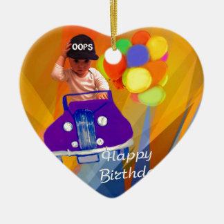 Désolé j'ai oublié votre anniversaire ornement cœur en céramique