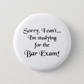 Désolé, ne peut pas… l'examen du barreau badge