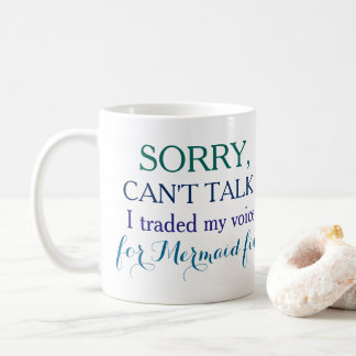 Désolé, ne peut pas parler. J'ai commercé ma voix Mug