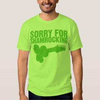 Désolé pour Shamrocking T-shirt