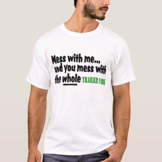 Désordre avec moi vous désordre avec tout le t-shirt