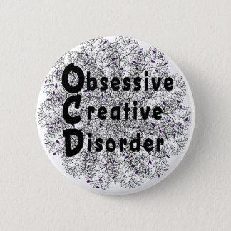 Désordre créatif obsédant - artiste pin's
