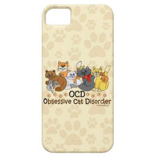 Désordre obsédant de chat d OCD Coque iPhone 5