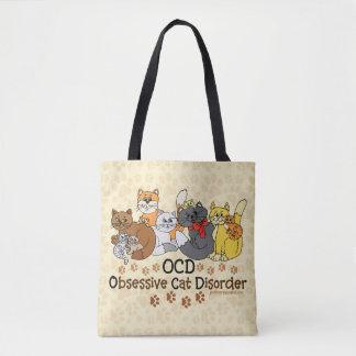Désordre obsédant de chat d'OCD Sac
