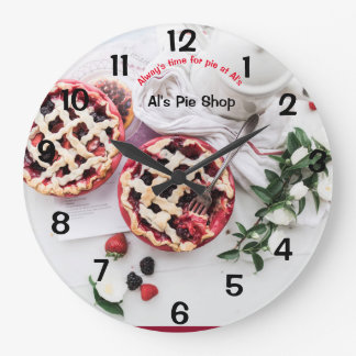 dessert grande horloge ronde