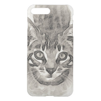 Dessin de chaton du Bengale Coque iPhone 8 Plus/7 Plus