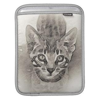Dessin de chaton du Bengale Housse Pour iPad
