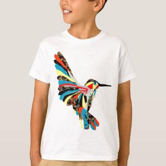 dessin de colibri t-shirt