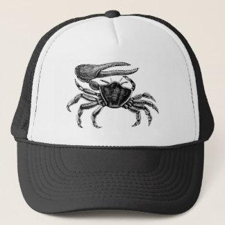 Dessin de crabe de violoneur casquette