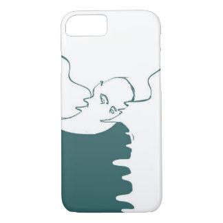 dessin de fantôme de coque iphone