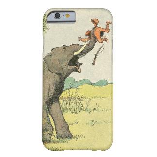 Dessin de livre d'histoire d'éléphant coque iPhone 6 barely there