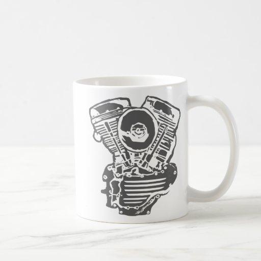Dessin de moteur de harley panhead tasse caf zazzle - Dessin tasse a cafe ...