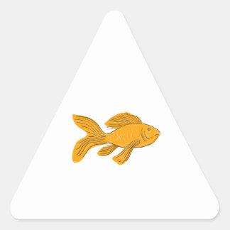 Autocollants stickers carpe poissons personnalis s for Koi papillon