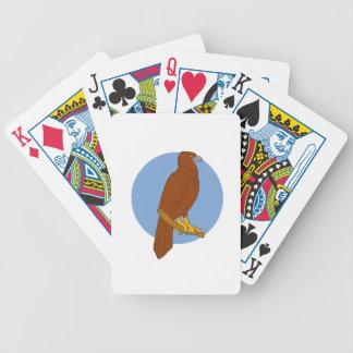 Dessin de perche d'Eagle Cale-coupé la queue par Cartes À Jouer