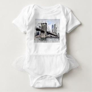 Dessin de pont de Brooklyn Body