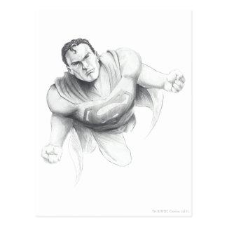 Dessin de Superman Cartes Postales