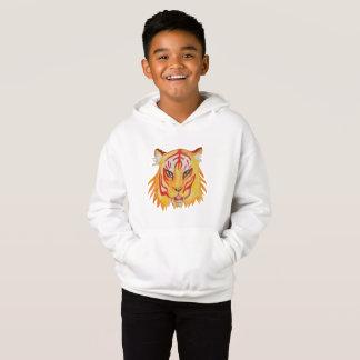Dessin de tigre de sweat - shirt à capuche de pull