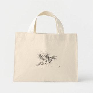dessin fait par Art's Line Mini Tote Bag