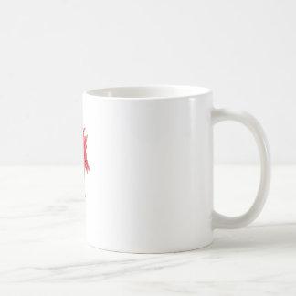 Dessin fou d'homme mug