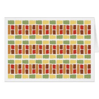 Dessin géométrique contemporain, carte générique