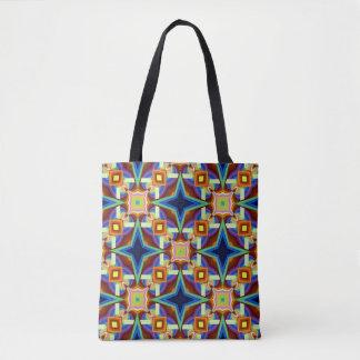 Dessin géométrique de fantaisie sac