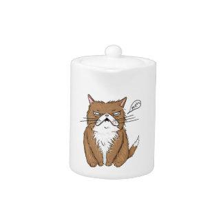 Dessin grincheux drôle de chat de Meh