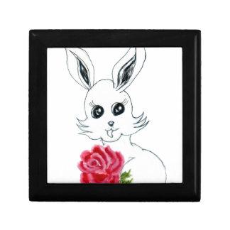 Dessin mignon de lapin boîte à souvenirs