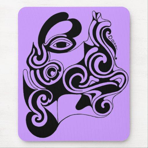 dessin original d 39 imaginaire celtique tapis de souris zazzle. Black Bedroom Furniture Sets. Home Design Ideas