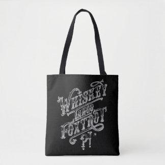 Dessin vintage drôle de citation de style de sac