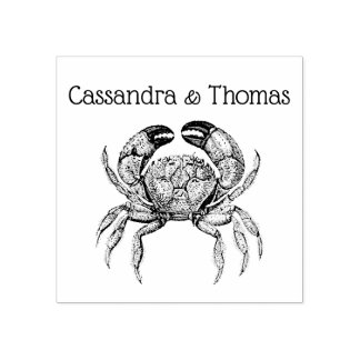 Dessin vintage du crabe #1