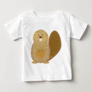 Dessins animaux adorables : Castor T-shirt Pour Bébé