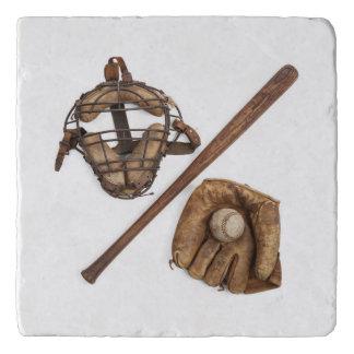 Dessous-de-plat Base-ball vintage
