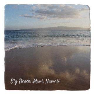 Dessous-de-plat Beau trépied de pierre de plage de Maui