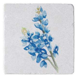 Dessous-de-plat Bluebonnet d'aquarelle
