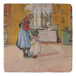 Dessous-de-plat Carl Larsson vintage la cuisine