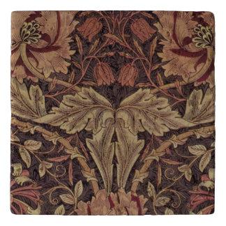 Dessous-de-plat Chèvrefeuille 1876 de William Morris de cru